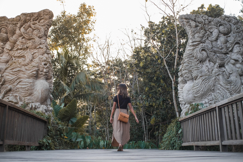ubud monkey forest gate