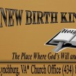 New Birth Kingdom Church in Lynchburg,VA 24501-1852