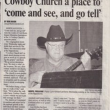 Cowboy Church at The Hippodrome in Warrenville,SC 29851-3226