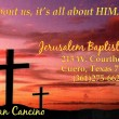 Jerusalem Baptist Church in Cuero,TX 77954
