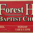 Forest Hills Baptist Church in Sapulpa,OK 74066
