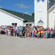 Peaksville Christian Church in Kahoka,MO 63445