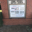 Cedar Springs Baptist Church in Ashford,AL 36312