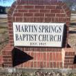 Martin Springs Baptist Church in Chandler,TX 75758