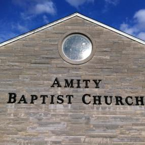 Amity Baptist Church in Franklin,IN 46131