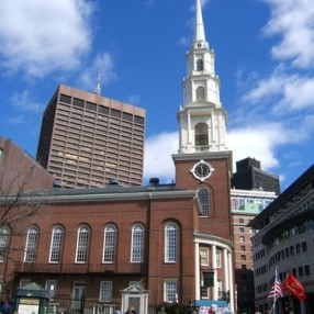 Park Street Church in Boston,MA 02108