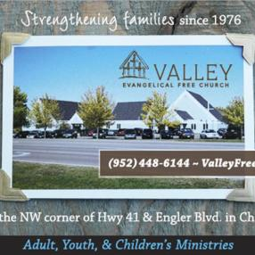 Valley Evangelical Free Church in Chaska,MN 55318