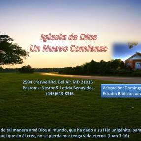 Iglesia de Dios un Nuevo Comienzo