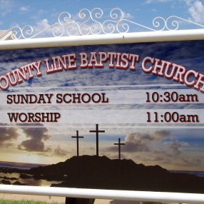 County Line Baptist Church in Abernathy,TX 79311