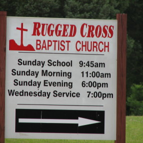 Rugged Cross Baptist Church in Salisbury,NC 28146