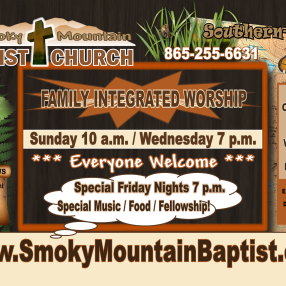 Smoky Mountain Baptist Church in Sevierville,TN 37876