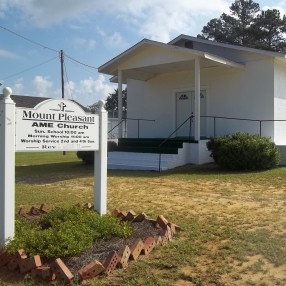 Mt. Pleasant A.M.E. Church in Wrightsville,GA 31096