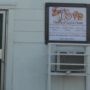 Faith and Love Church of God in Christ in Fort Worth,TX 76110