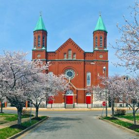 St. Stanislaus Kostka Polish Catholic Church in Saint Louis,MO 63106