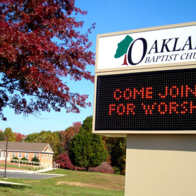 Oakland Baptist in King George,VA 22485