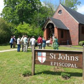 St. John's Episcopal Church in West Point,GA 31833