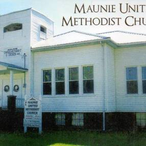 Maunie United Methodist Church in Maunie,IL 62861