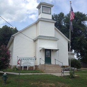 Amazonia United Methodist Church in Amazonia,MO 64421