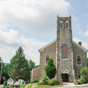 St. Paul's Lutheran Blue Church