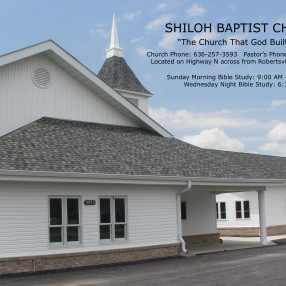 Shiloh Baptist Church in Robertsville,MO 63072