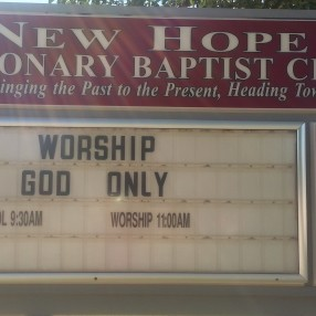 New Hope Missionary Baptist Church in Palmdale,CA 93591