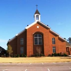 Rainbow Presbyterian Church in Rainbow City,AL
