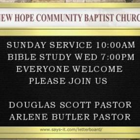 New Hope Community Baptist Church