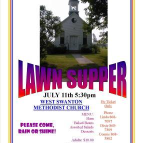 West Swanton United Methodist Church in West Swanton,VT 05488