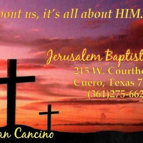 Jerusalem Baptist Church in Cuero,TX 77954