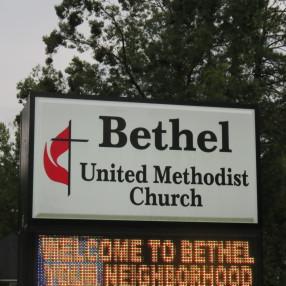 Bethel United Methodist Church in Columbia