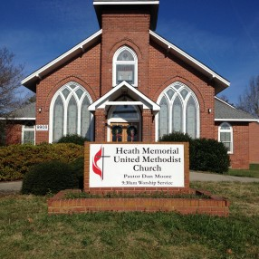 Heath Memorial UMC in Waxhaw,NC 28173