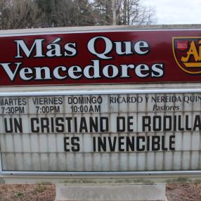 Iglesia Mas Que Vencedores AD in Sanford,NC 27330