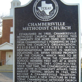 Chambersville United Methodist Church in McKinney,TX 75071