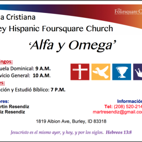 Burley Hispanic Foursquare Church