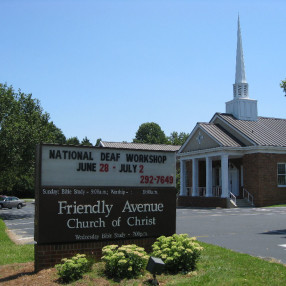 Friendly Avenue Church of Christ in Greensboro,NC 27410