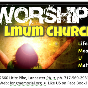 Long Memorial United Methodist (LMUM Church) in Lancaster,PA 17601