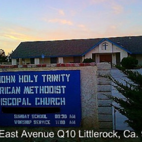St. John Holy Trinity A.M.E. Church in Littlerock,CA 93543