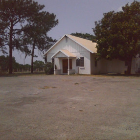 Sand Branch Baptist Church in Bigfoot,TX