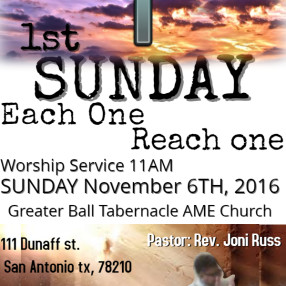 Greater Ball Tabernacle A.M.E. Church