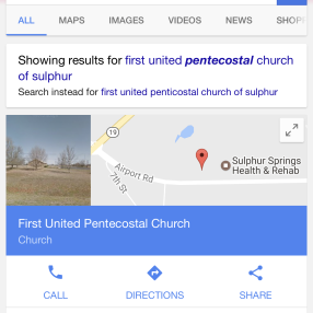 Sulphur United Pentecostal Church