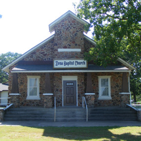 Zena Baptist Church in Jay,OK 74346