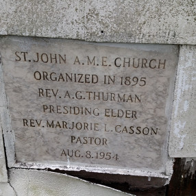 St. John, Centralia A.M.E. Church