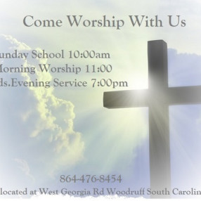 West End Baptist Church in Woodruff,SC 29388