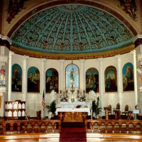 Saint Mary of Victories Chapel in Saint Louis,MO 63102-1645
