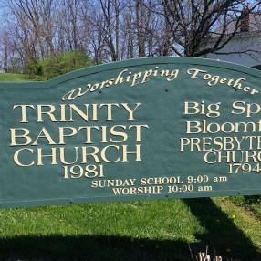 Big Spring Bloomfield Presbyterian Trinity Baptist Church