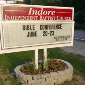 Indore Baptist Church in Indore,WV 25111