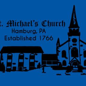 St Michael's Church in Hamburg,PA 19526