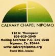 Calvary Chapel Nipomo
