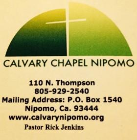 Calvary Chapel Nipomo in Nipomo,CA 93444