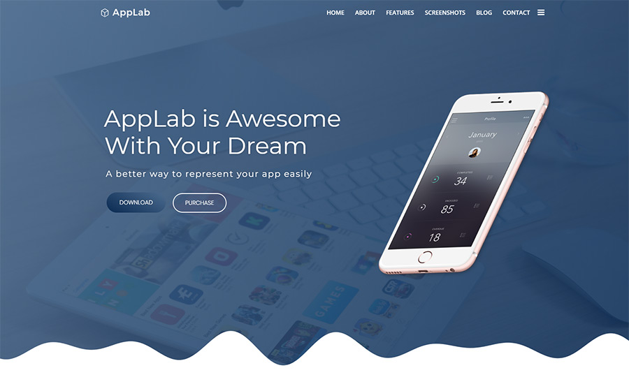 Applab wordpress theme